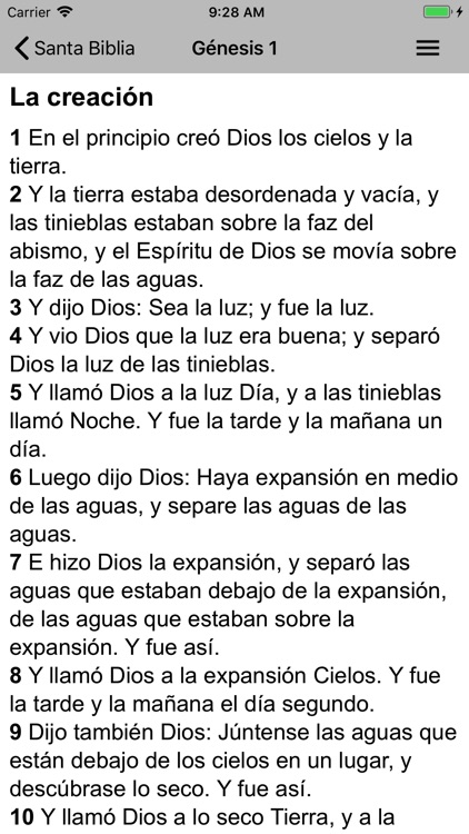 Santa Biblia Reina screenshot-1