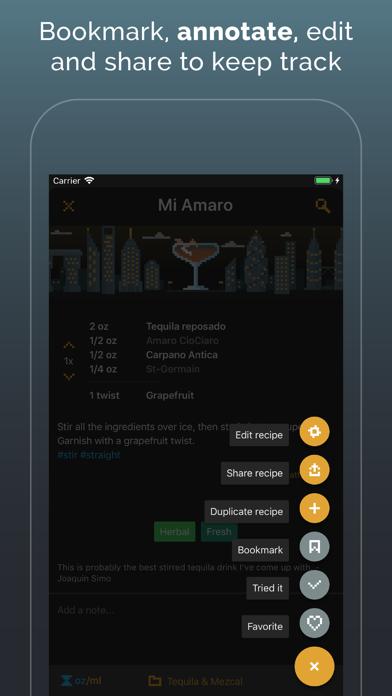 Mixel - Cocktail Recipes Screenshot