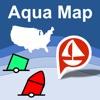 Aqua Map USA: Marine & Lakes