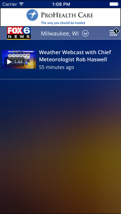 Screenshot for FOX6 Milwaukee Weather in United States App Store