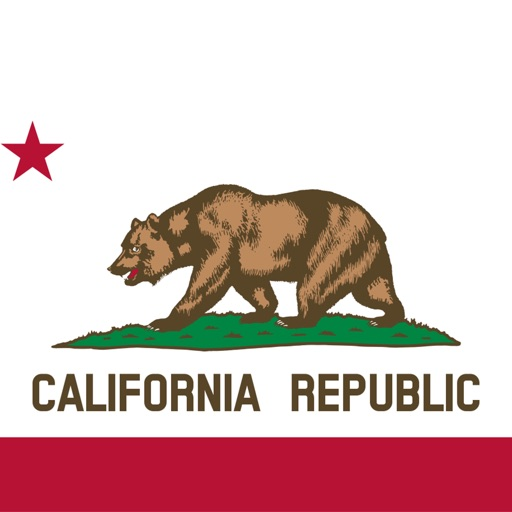 California emojis USA stickers
