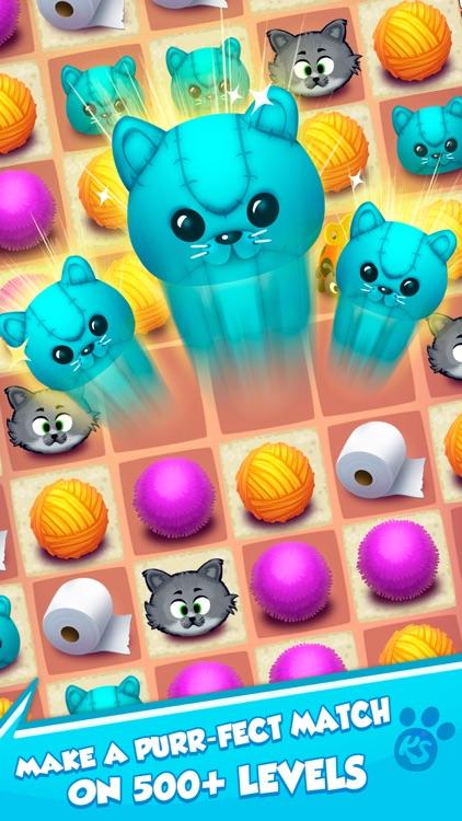 Kitty Snatch - Match 3 Cats screenshot-5