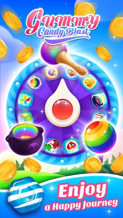 Gummy Candy Blast!Match 3 Game screenshot-4