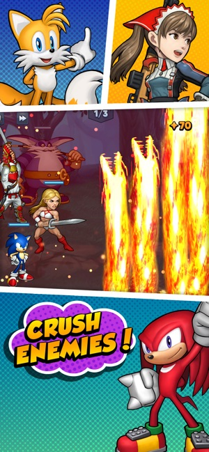 SEGA Heroes: Puzzle RPG Quest on the App Store
