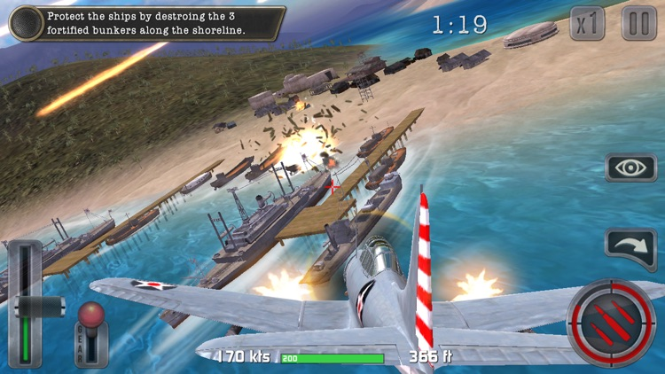 Air Combat Pilot: WW2 Pacific screenshot-7