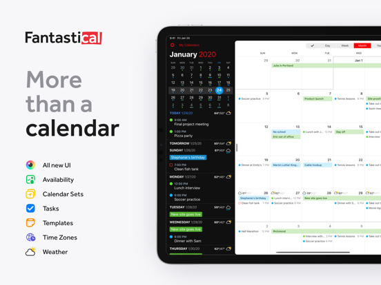 Fantastical - Calendar & Tasks screenshot 9