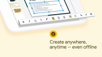 Screenshot for Google Presentationer in Sweden App Store