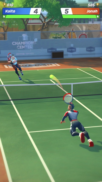 Tennis Clash: Online League for windows pc