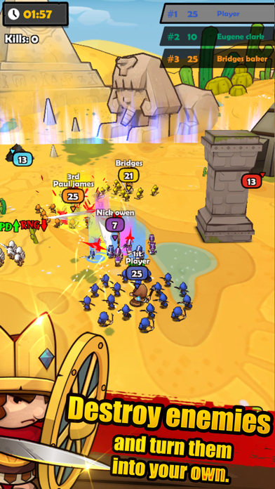 MiniWarriors.io screenshot 2