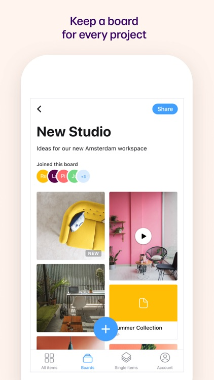 Collect: Save and share ideas screenshot-3