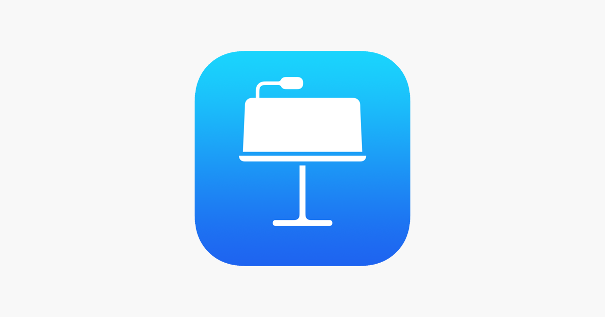 Keynote on the App Store