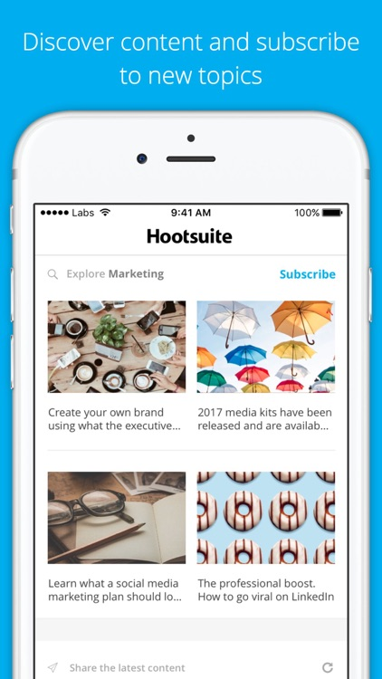 Hootsuite Amplify screenshot-2