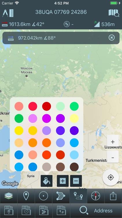 Mgrs & Utm Map