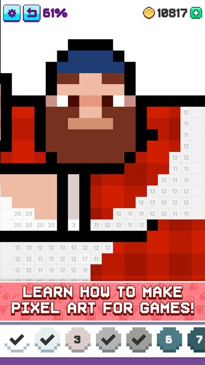 Artsy Pixel - Color by Number screenshot-4