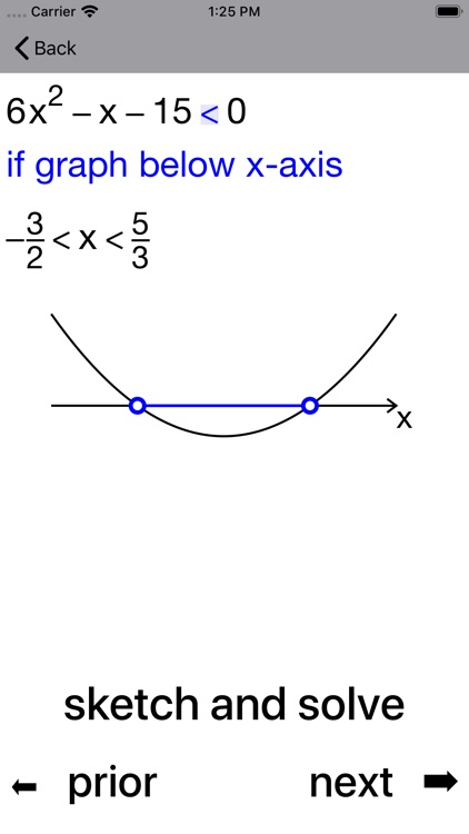 Quadratic Inequalities screenshot-5