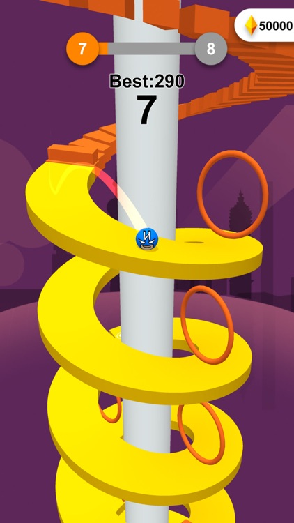Jump Ball-Bounce On Tower Tile screenshot-5