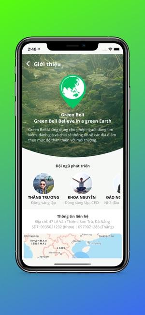 Green Beli - Bản đồ xanh