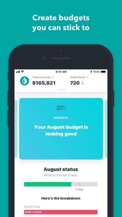 Screenshot for Mint: Personal Finance & Money in United States App Store