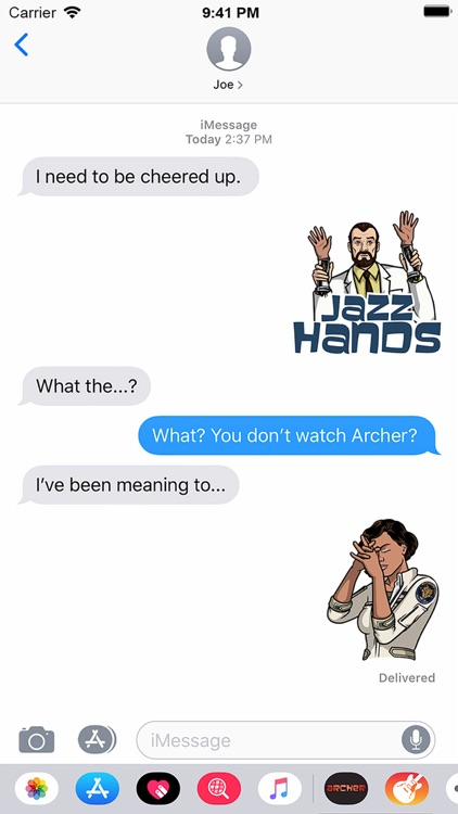 Archer Stickers screenshot-2