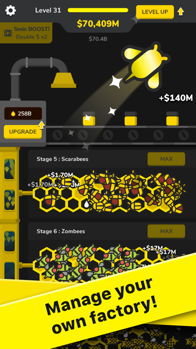 Bee Factory! screenshot 2