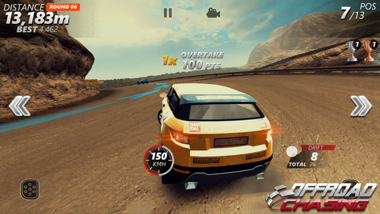 Offroad Chasing -Drifting Game screenshot-5