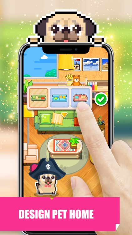 Pet Home Design & Pixel Puzzle screenshot-0