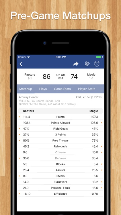 Scores App for Pro Basketball screenshot-5