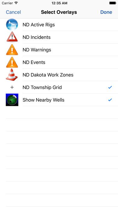 WellSite Navigator ND Screenshot