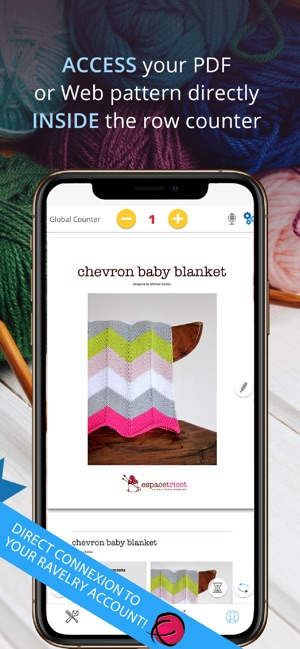 My Row Counter Knit Crochet On The App Store