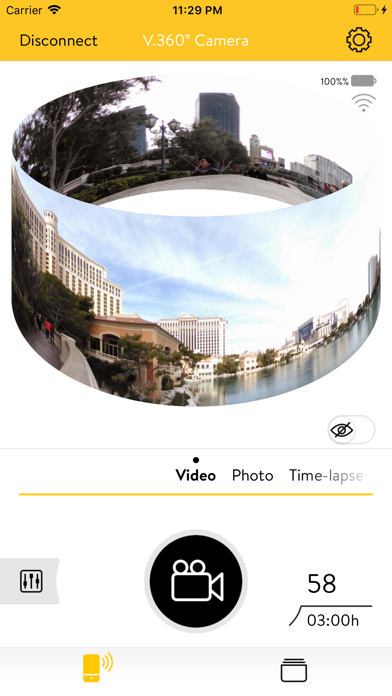V.360° Camera screenshot one