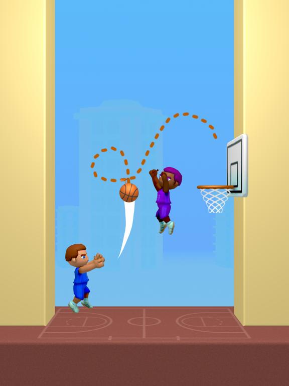 Doodle Dunk iPad app afbeelding 2