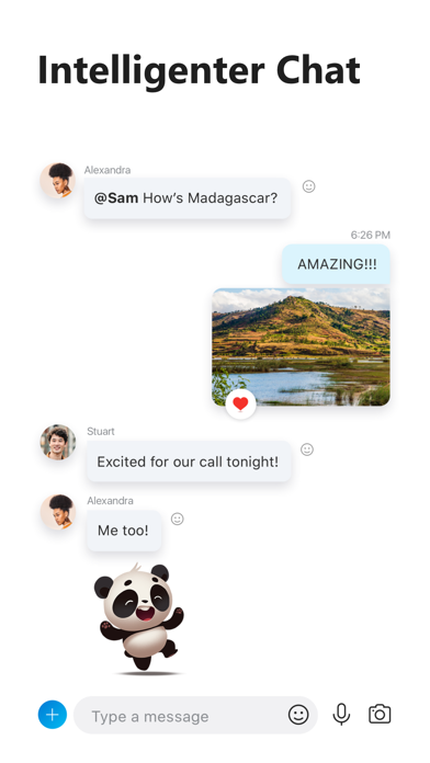 Skype für iPhoneScreenshot von 2