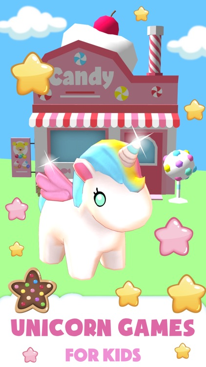Unicorn games for girls 6 7 8