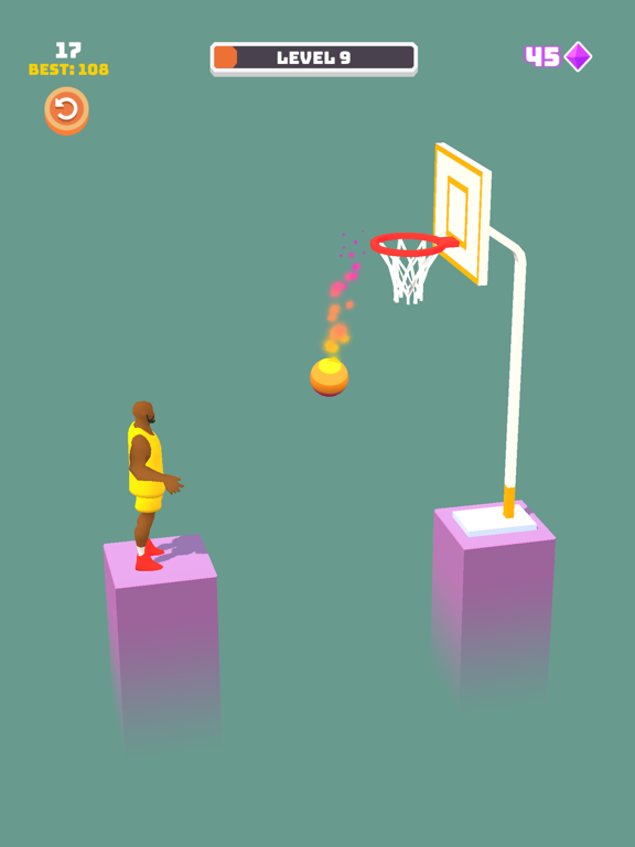 iPad Image of Perfect Dunk 3D