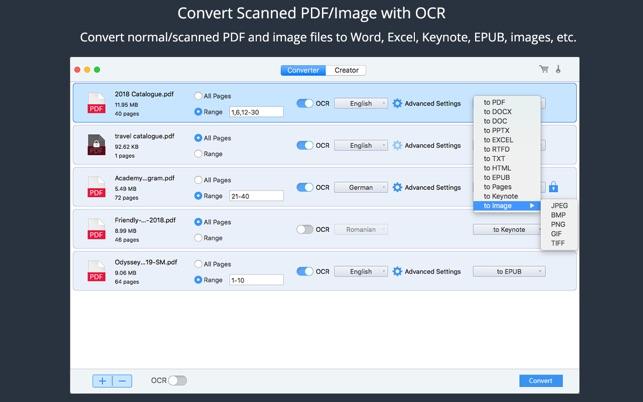PDF Converter OCR