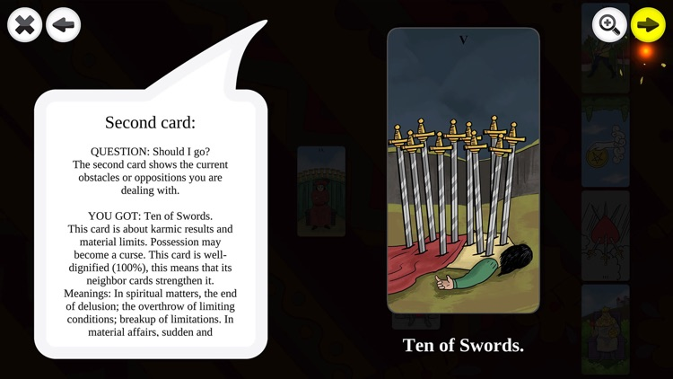 Tarot Readings Lite screenshot-4