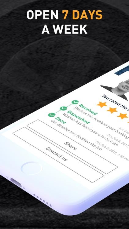 Washos: Mobile Car Wash App screenshot-3