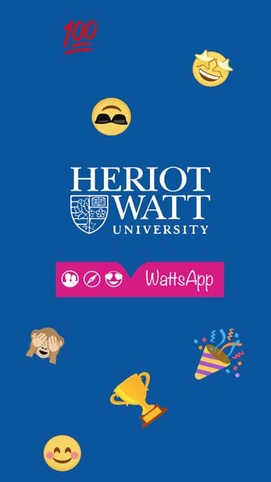 Heriot-WattsApp app image