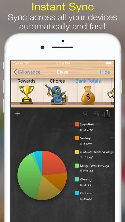 iAllowance (Chores Allowances) screenshot-4