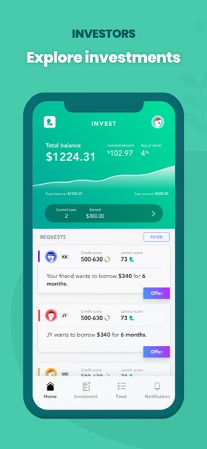 Lenmo: Investing & Borrowing on the App Store