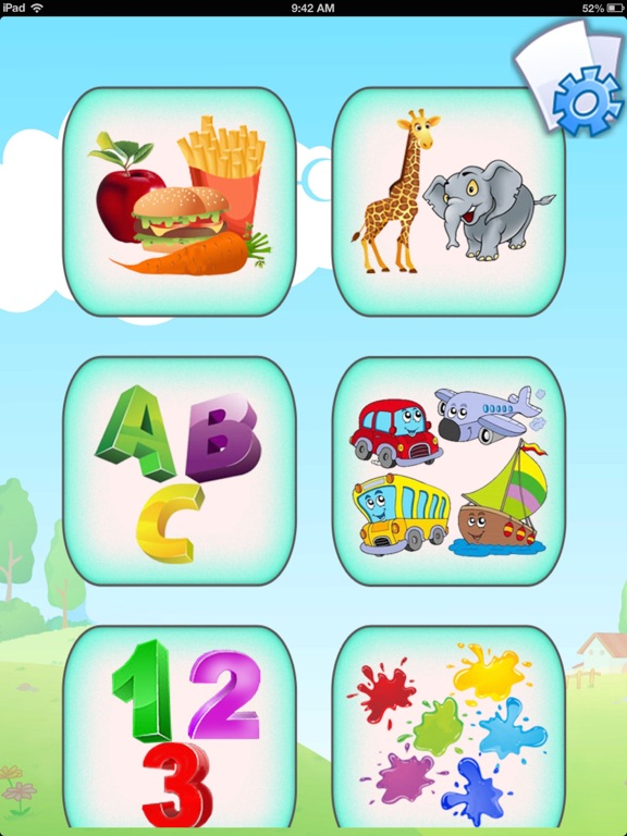 Baby Flash Cards : 450+ flashcards app for babies, preschool & kindergarten - Kids learn first words with sounds, colors and pictures screenshot