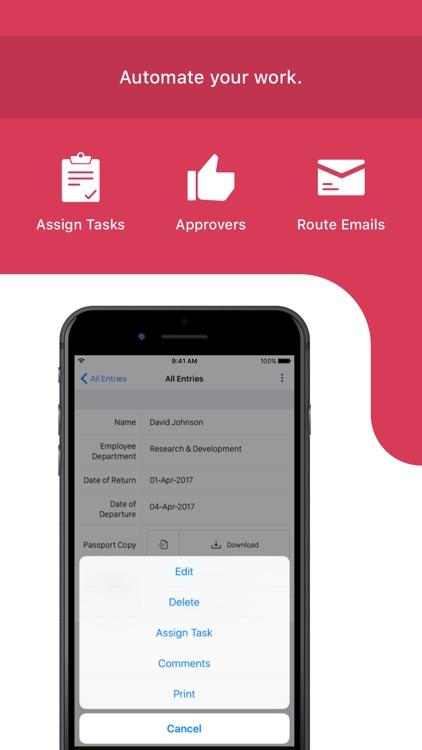 Mobile Forms App - Zoho Forms screenshot-6