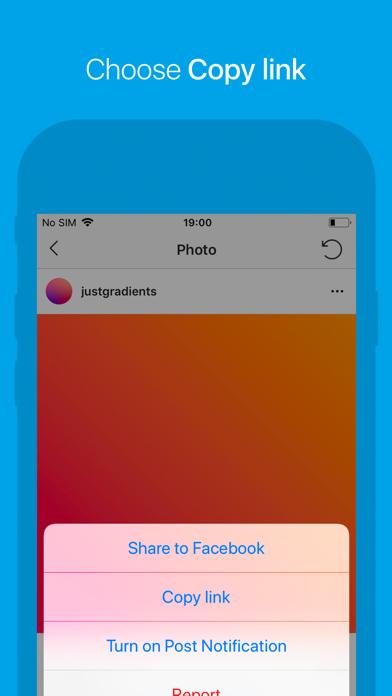 Repost for Instagram ゚ screenshot two