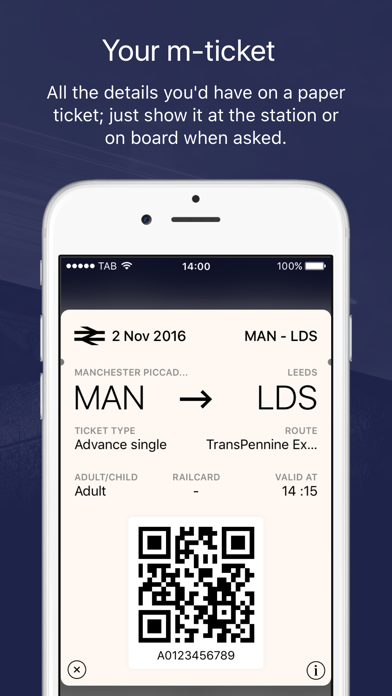 TransPennine Express screenshot three