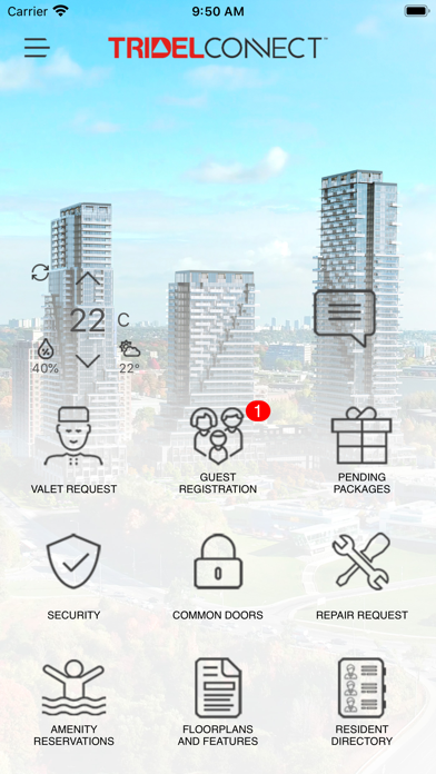 Tridel Connect screenshot 2