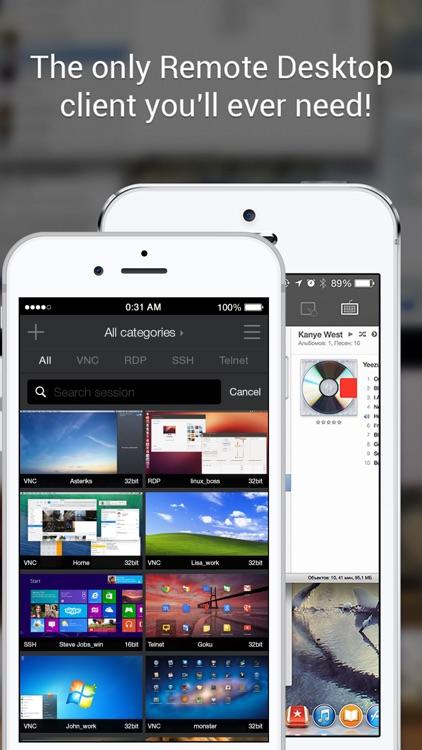 Remoter VNC - Remote Desktop screenshot-3