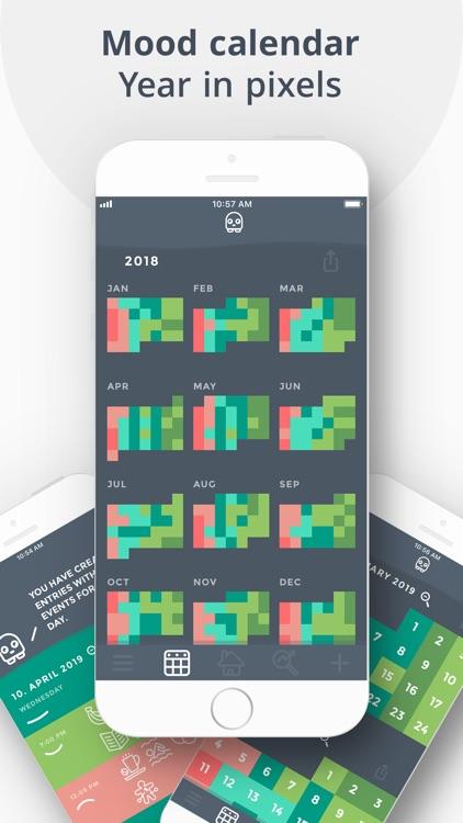 Moodistory Mood Tracker, Diary screenshot-5