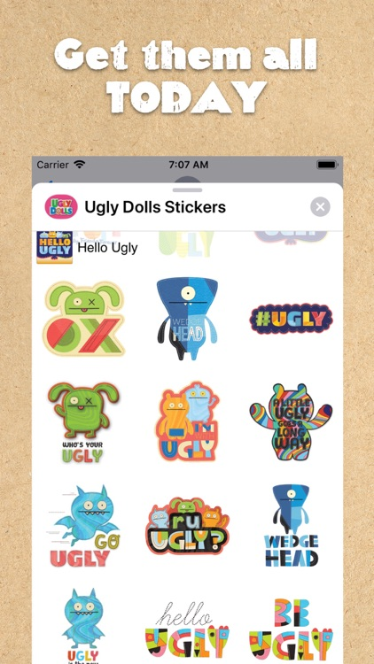UglyDolls Stickers screenshot-6