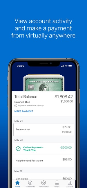 Amex on the App Store