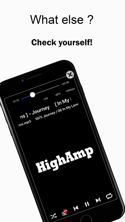 HighAmp - MP3 Music Player screenshot-7
